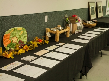 Silent Auction items were provided by local businesses.